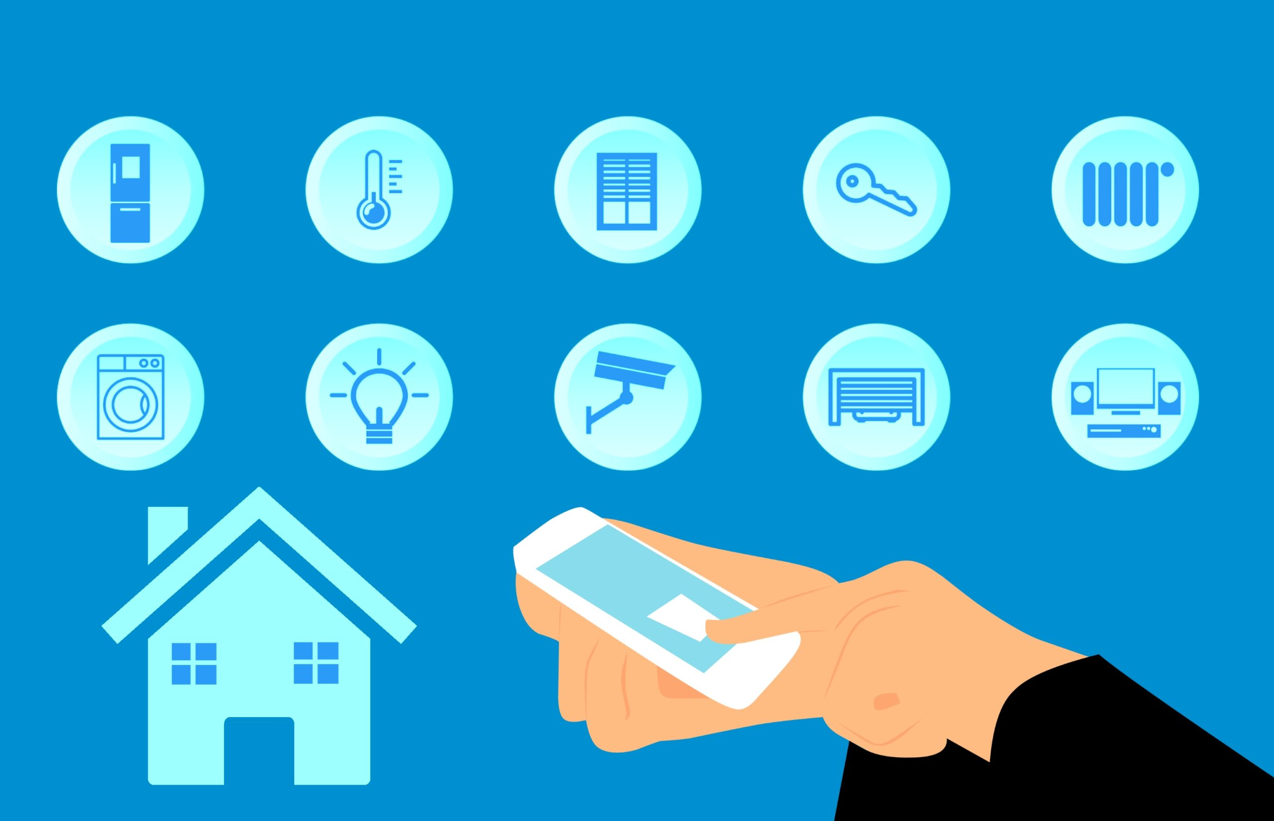 Tecnología para hogar inteligente