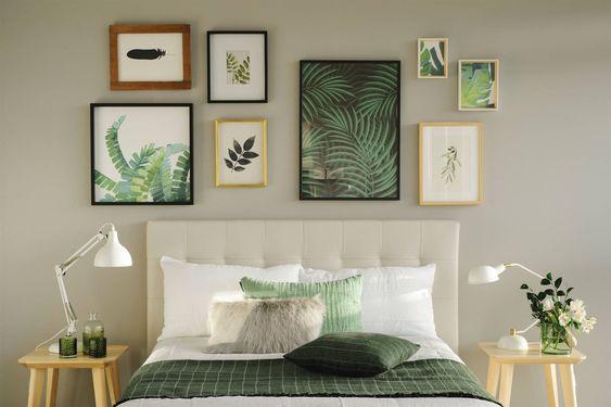 4 formas de decorar con cuadros